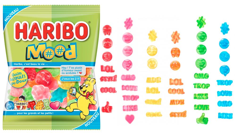 """Haribo Mood"" (assortiment de bonbons doux et acidulés) par Haribo"