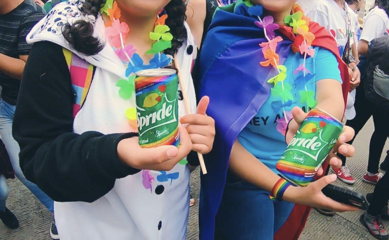 """Spride"" - Sprite/The Coca-Cola Company (cannette spéciale pour célébrer la Gay Pride) I Agence : Media House / KTBO-Mediacom, Pineda Monterrubio (design), Mexique (juin 2018)"