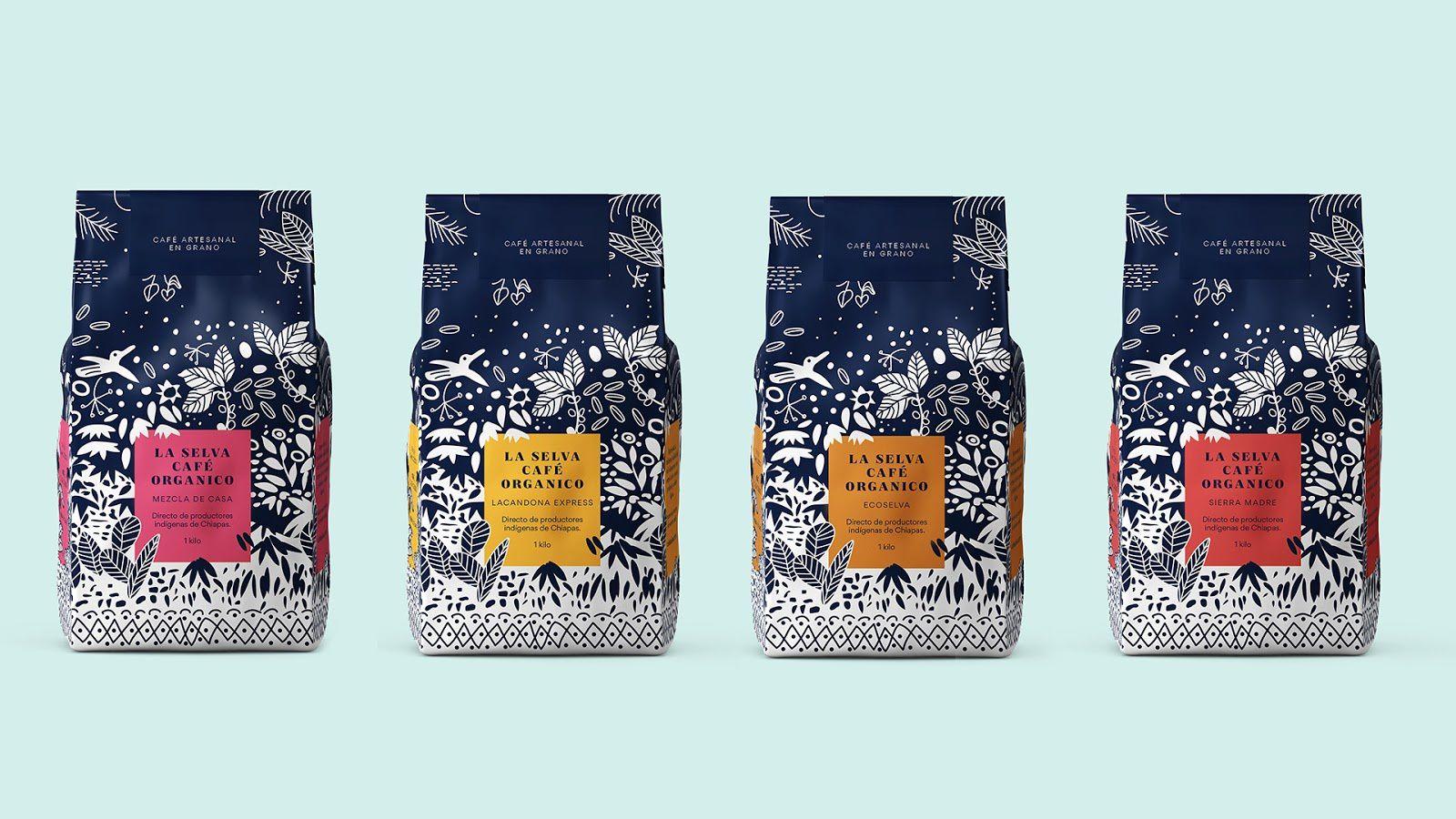 La Selva Café (café bio) I Design (concept) : Mamba Studio, Mexique (juillet 2018)