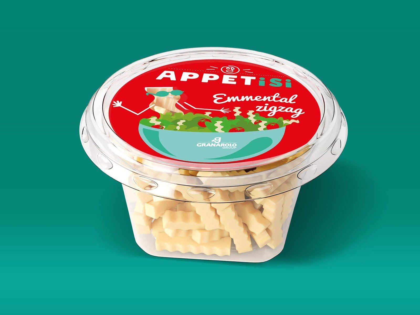 Appetisi - GRANAROLO (fromages découpés) I Design : Made for you, Paris, France (août 2018)