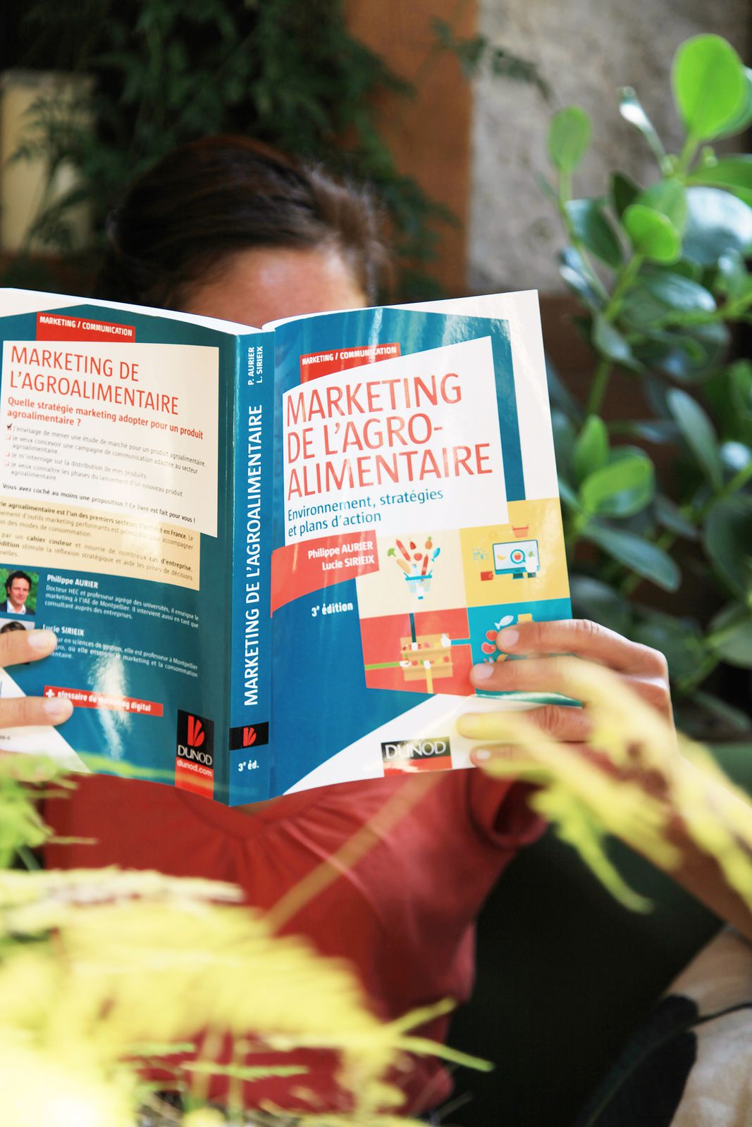 Marketing de l'agroalimentaire - 3e édition, Philippe Aurier, Lucie Sirieix, ed. Dunod (2016) I Photo © Virginie Bouvard ❤