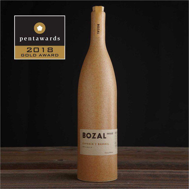 Bozal Mezcal - Gold Pentaward 2018 (alcool) I Design : Swig, Etats-Unis
