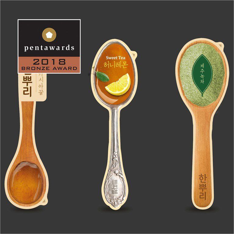 Hanppuri - Bronze Pentaward 2018 (miel) I Design : CJ cheiljedang, Corée du Sud