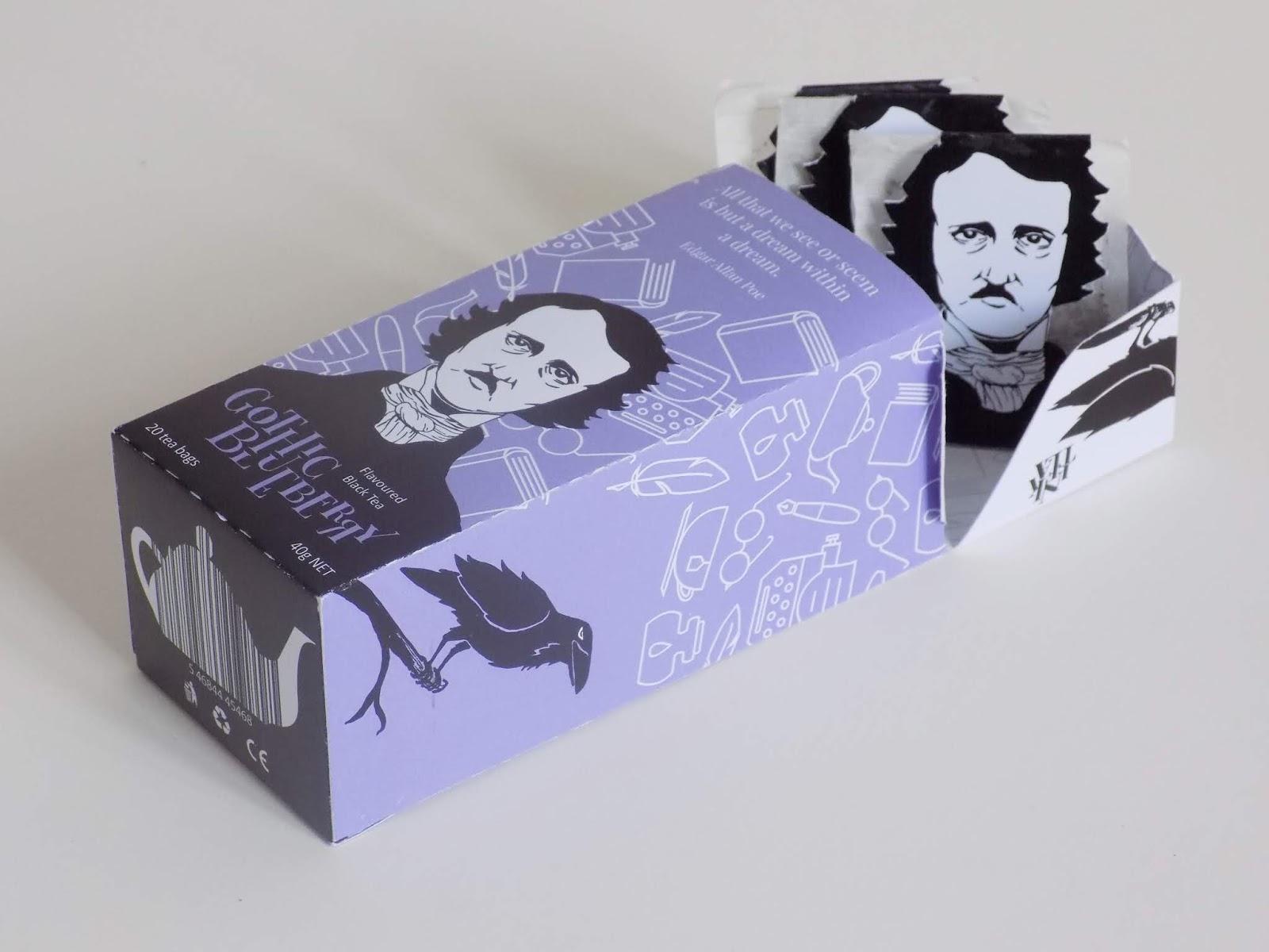 "InkTea (thé ""spécial lecteurs"") I Design (projet étudiant) : Agata Wilczynska (Corvin Artschool), Budapest, Hongrie (octobre 2018)"
