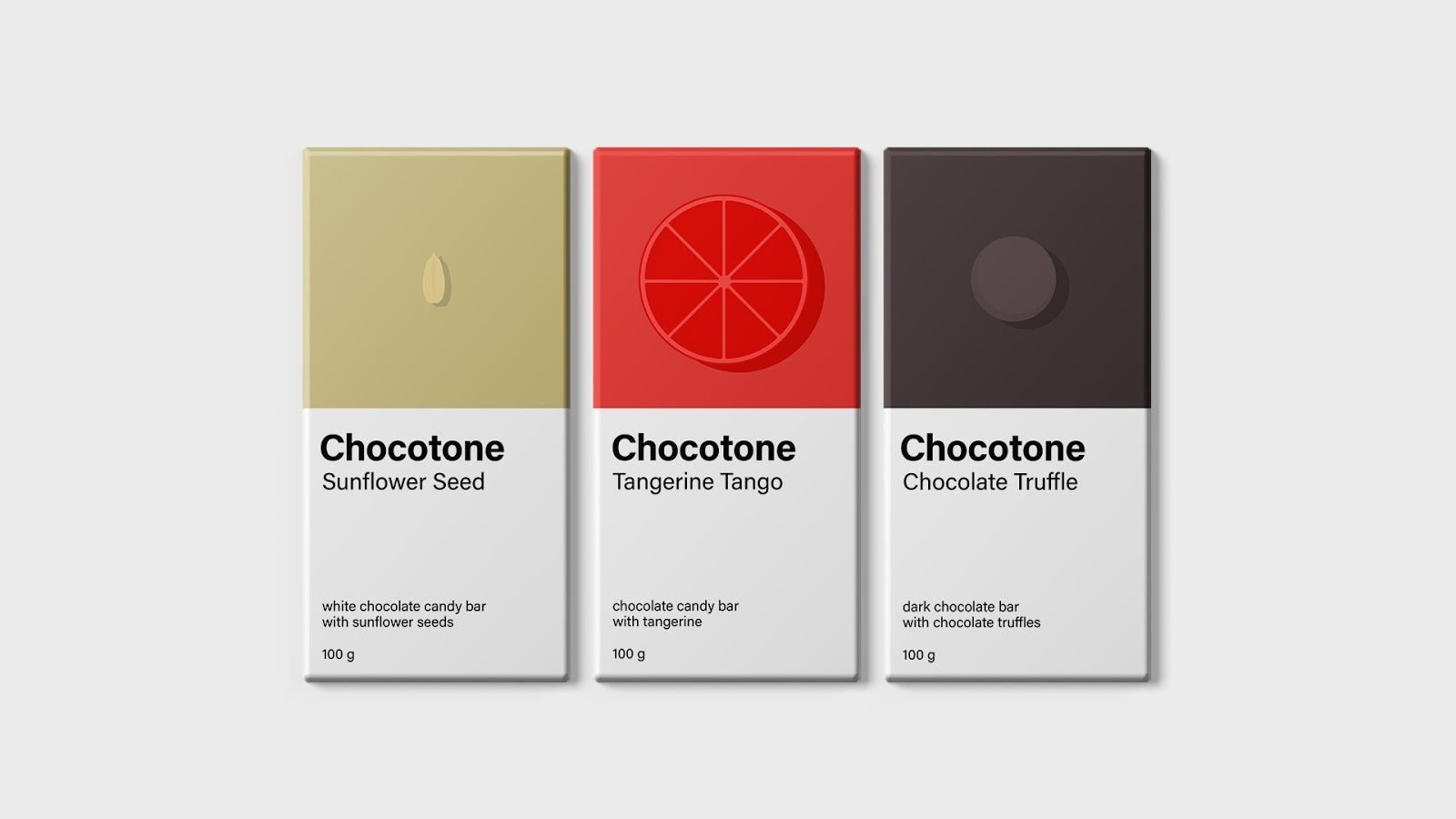Chocotone (chocolat) I Projet étudiant : Albina Safina (British Higher School of Art and Design), Moscou, Russie (octobre 2018)