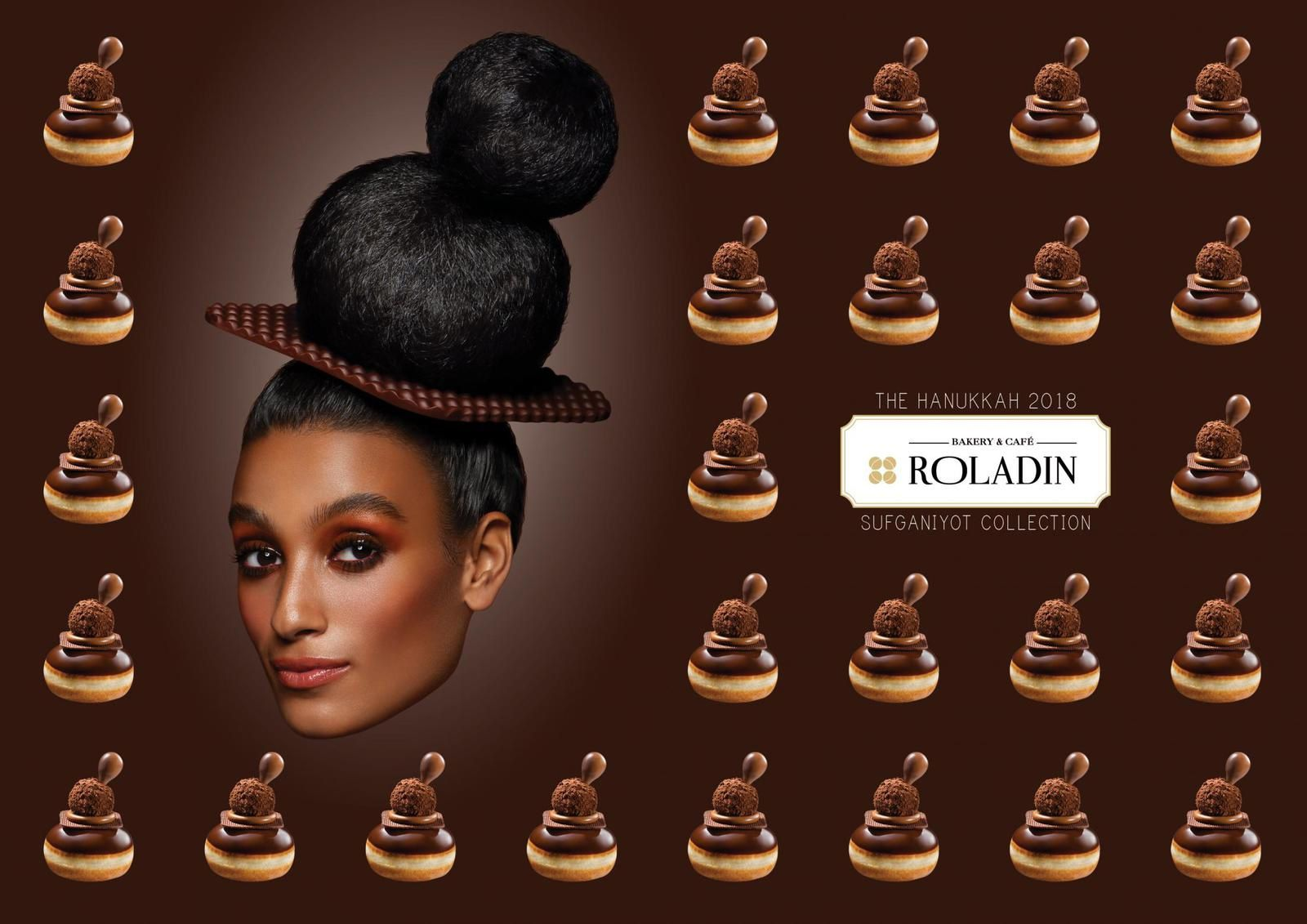 "Roladin : ""The 2018 Sufganiyot Collection"" (beignets traditionnels juifs) I Agence : M&C Saatchi, Tel Aviv, Israël (novembre 2018)"
