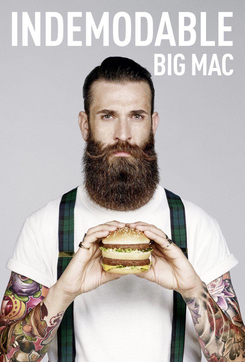 """McDonald's : """"Indémodable Big Mac"""" (50 ans du Big Mac) I Agence : TBWA, Paris, France (novembre 2018)"""