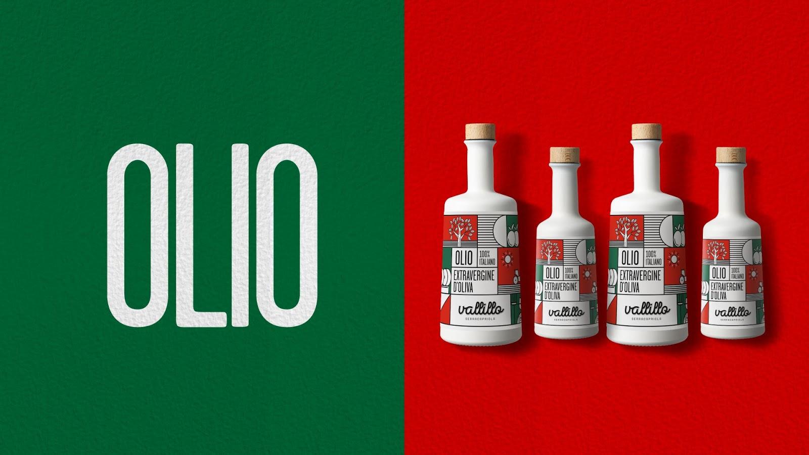 Vallillo (pâtes et huile d'olive italiennes) I Design : DISPENSER, Italie (décembre 2018)