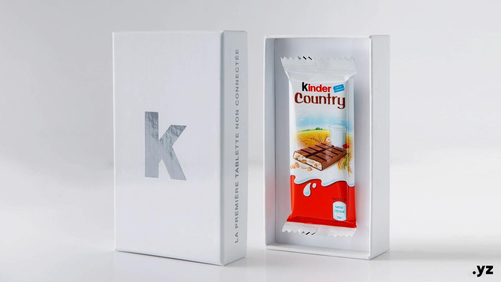 Innovation technologique : Kinder Country dévoile la première tablette non-connectée
