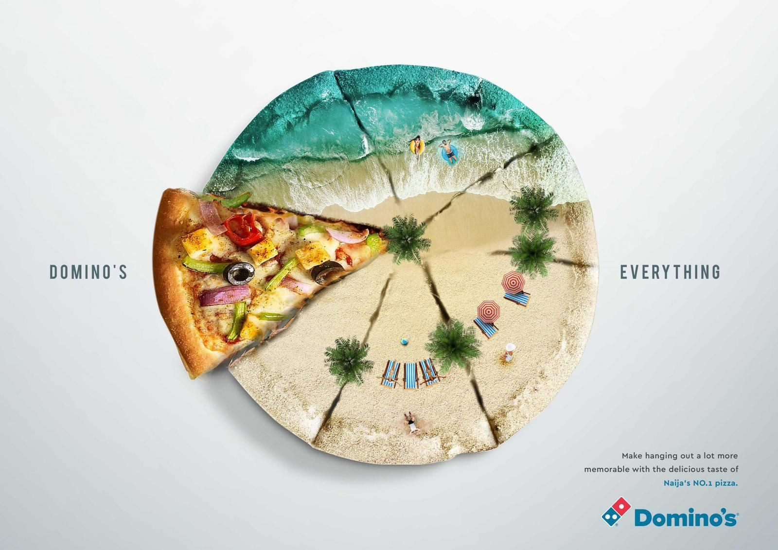 "Domino's Pizza : ""Domino's Everything"" I Agence : X3M Ideas, Lagos, Niger (janvier 2019)"