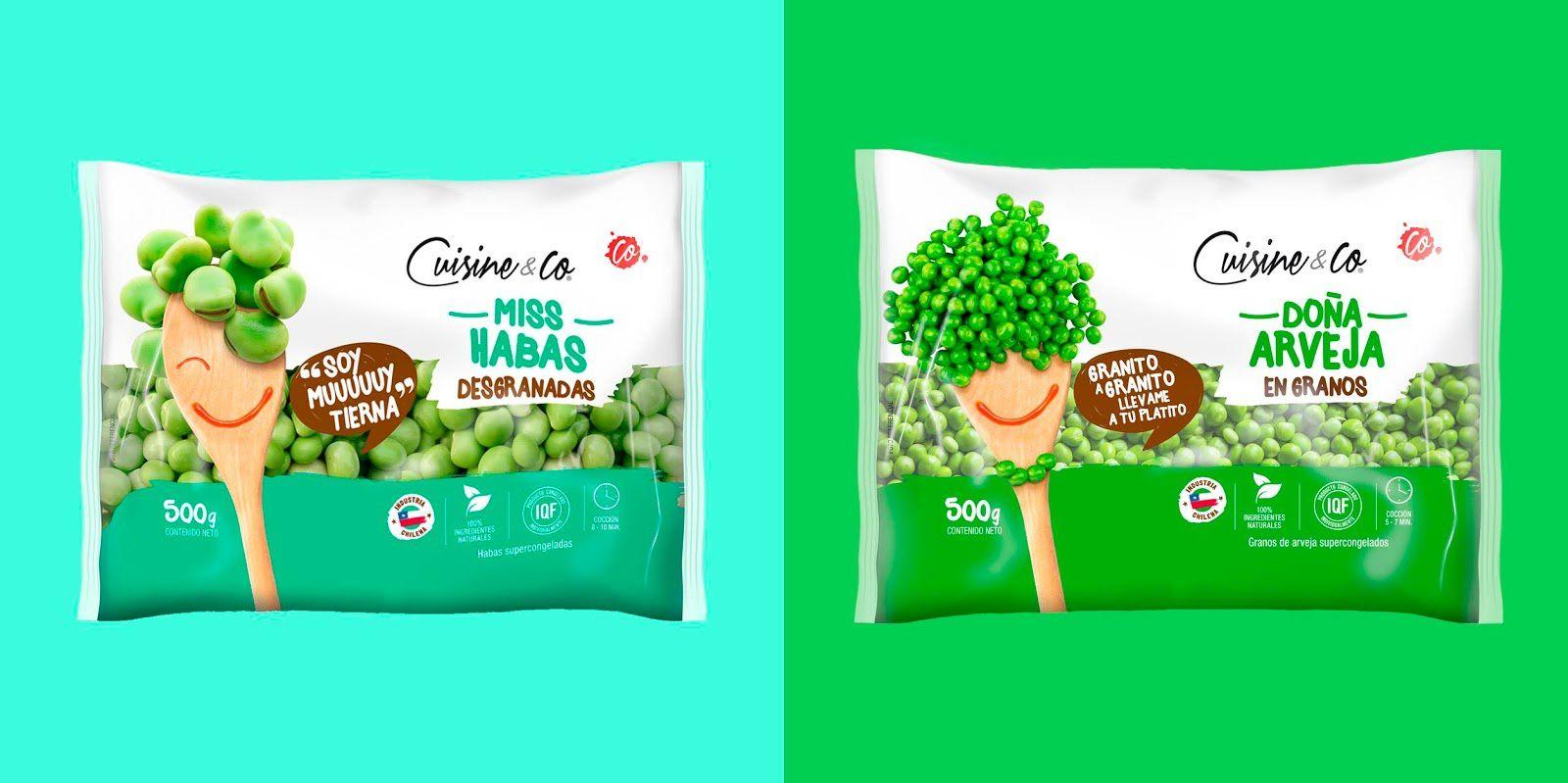 Cuisine&Co (légumes surgelés pour les enfants) I Design : Doble Giro, Chili (mars 2018)