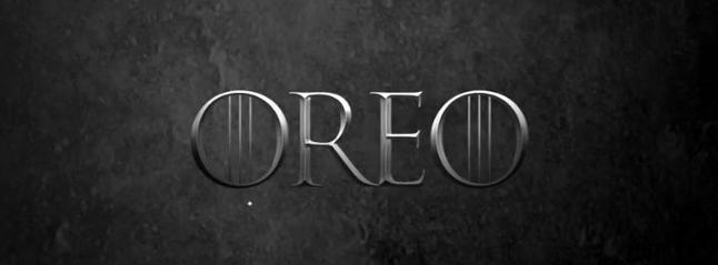 Biscuits Oreo en édition limitée pour la dernière saison de la série Game of Thrones