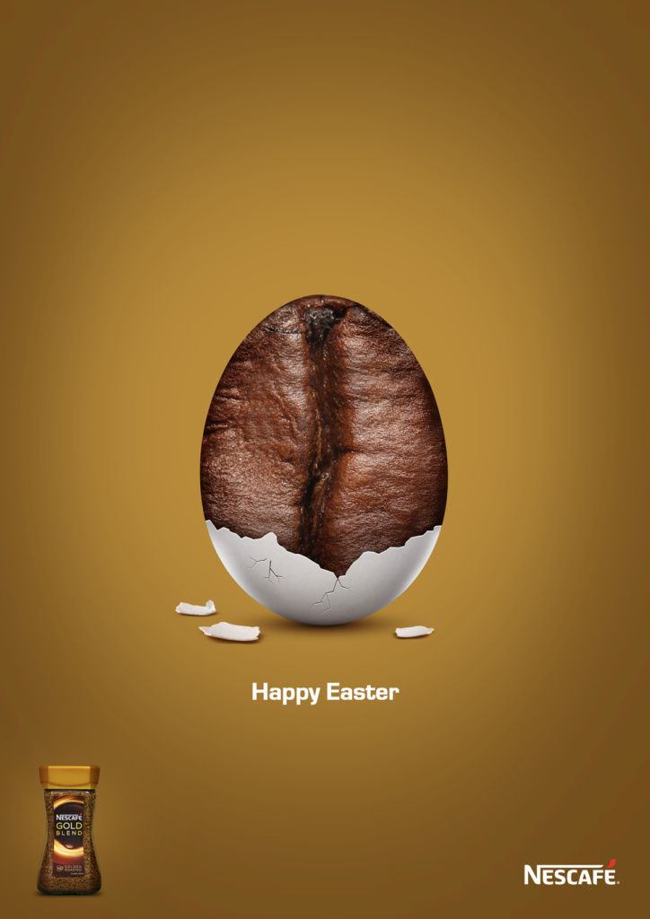 "Nescafé Gold : ""Happy Easter"" (café)"