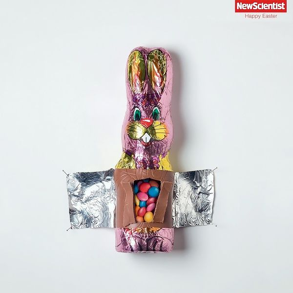 "New Scientist : ""Happy Easter (revue scientifique) I Agence : DDB, Australie"