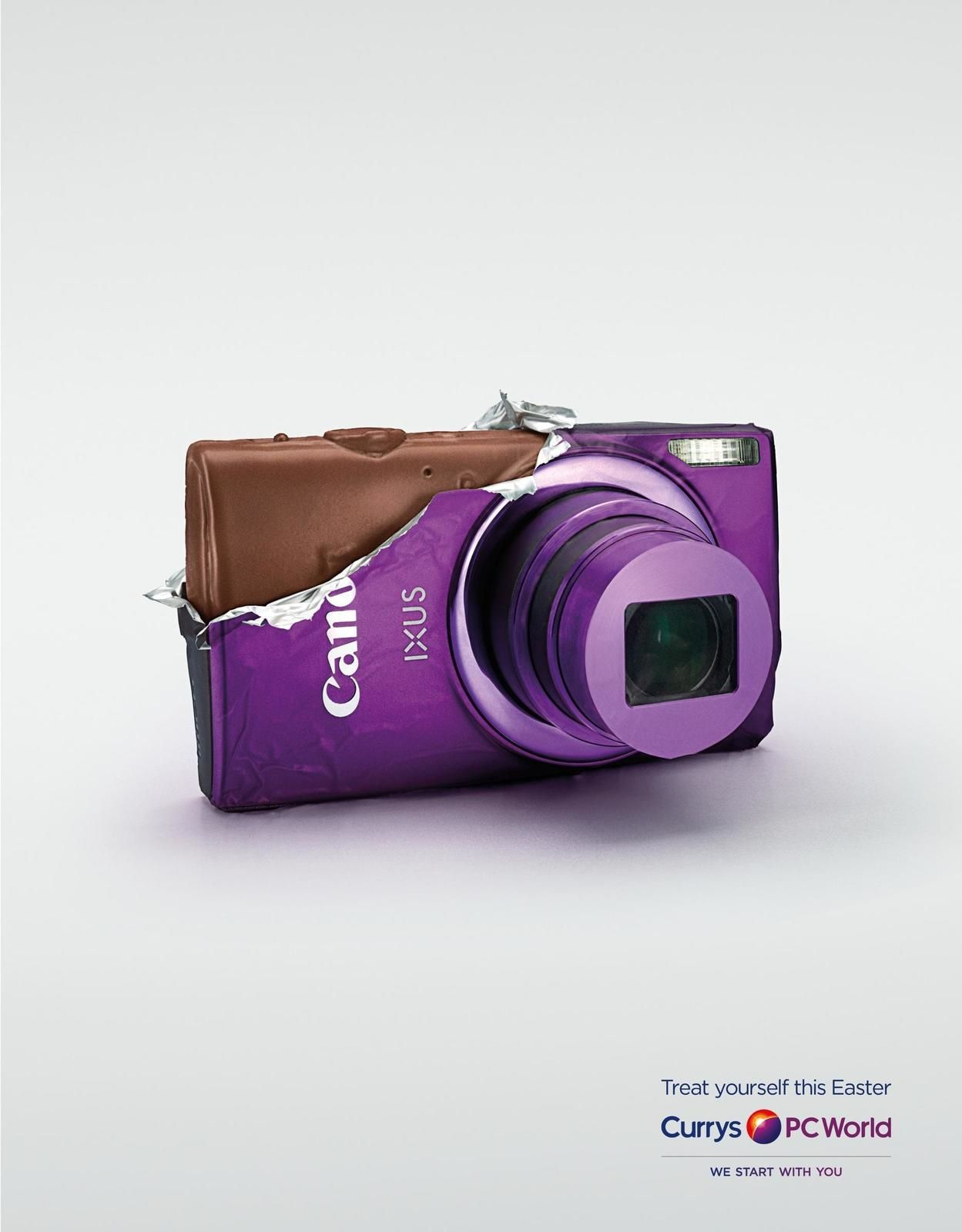 "Currys : ""Treat yourself this Easter"" I Agence : AMV BBDO, Londres, Royaume-Uni (avril 2015)"