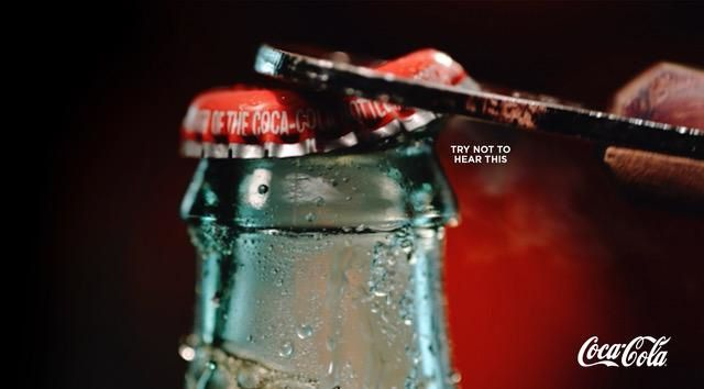 """Coca-Cola : """"Try not to hear this"""" I Agence : DAVID the Agency, Etats-Unis (avril 2019)"""