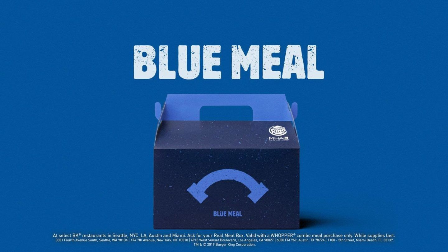 Burger King - Blue Meal