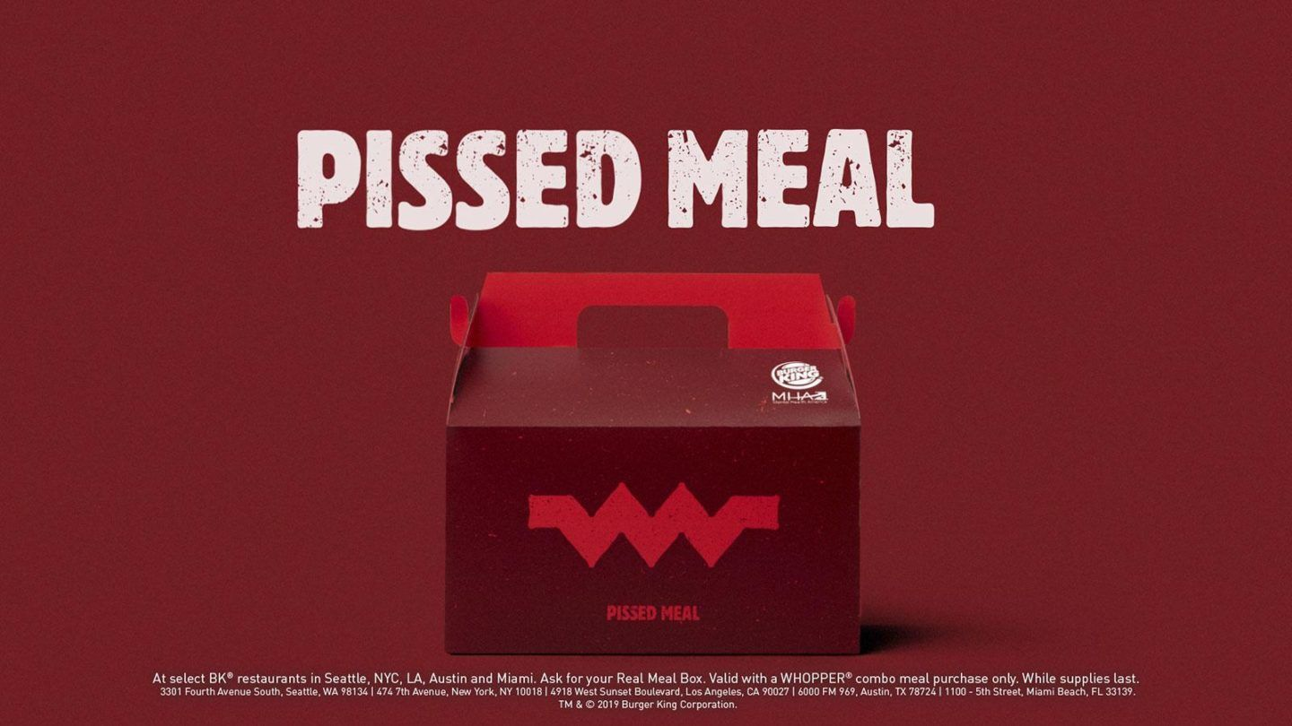 Burger King - Pissed Meal