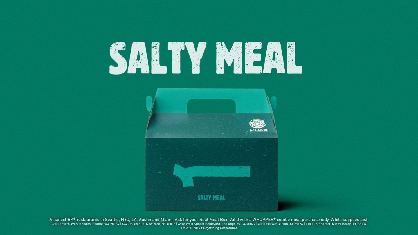 Burger King - Salty Meal