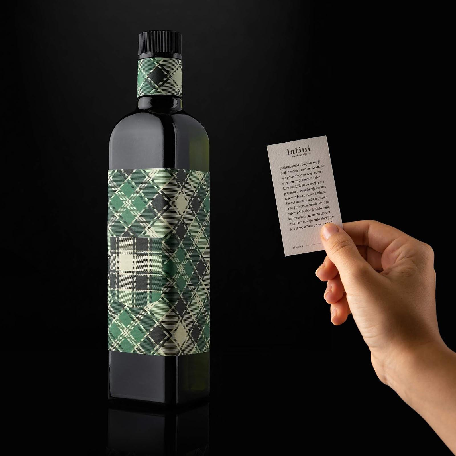 Latini (huile d'olive de Croatie) I Design : Studio Tumpić/Prenc, Rovinj, Croatie (mai 2019)