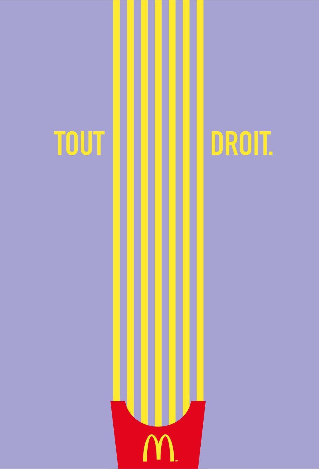 "McDonald's : ""Directionnel"" I Agence : TBWA, Paris, France (juillet 2019)"