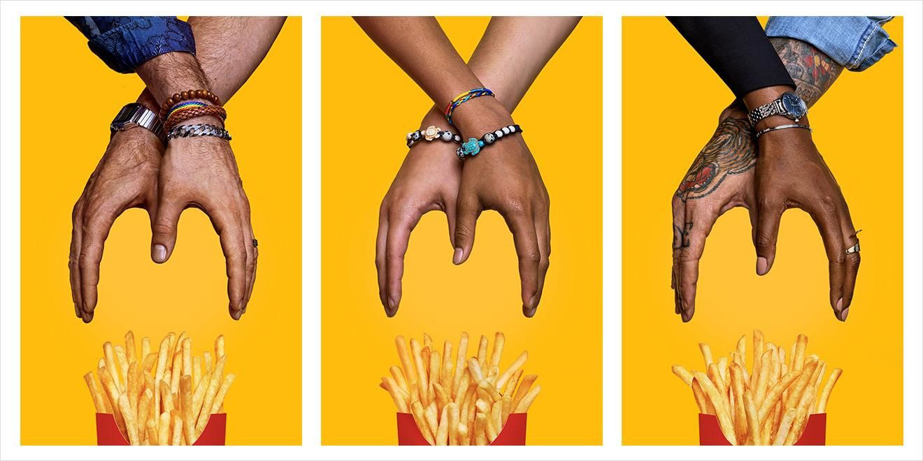 "McDonald's : ""Share the Love - #NationalFrencheFryDay"" I Agence : We Are Unlimited, Etats-Unis (juillet 2019)"