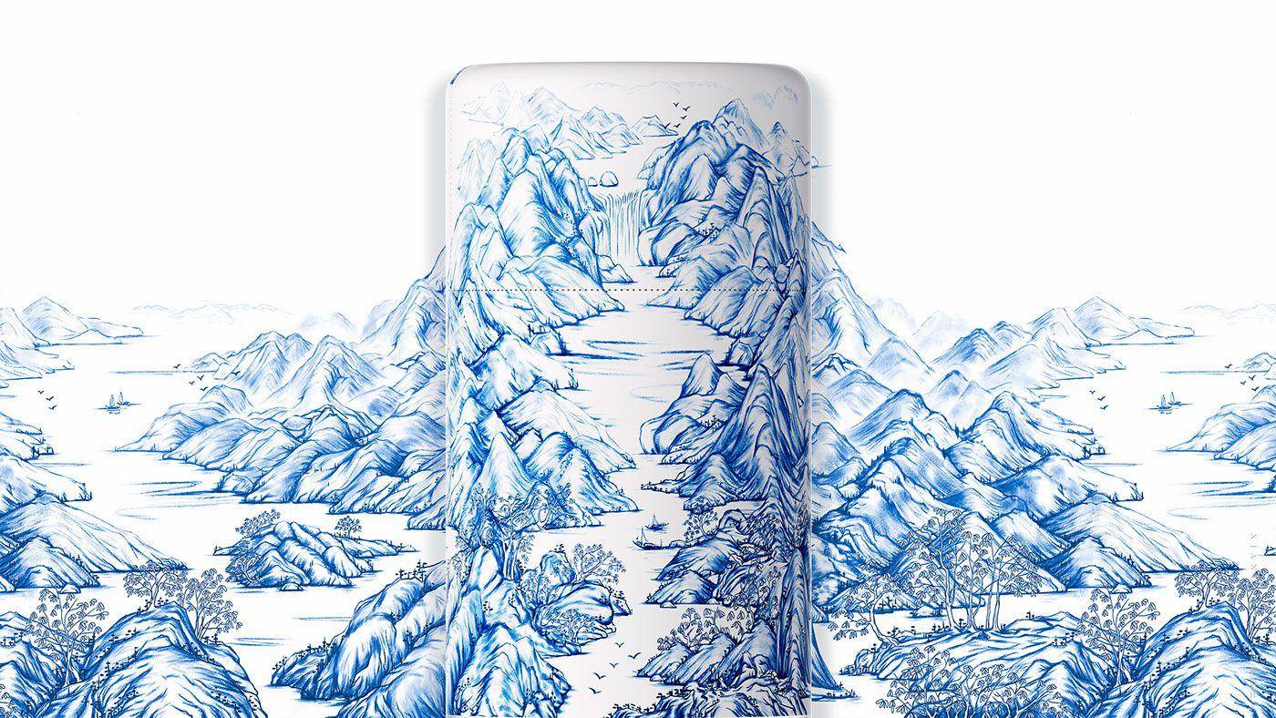 QUYUE (eau minérale) I Design : Xian Gao Peng, Chine (juillet 2019)