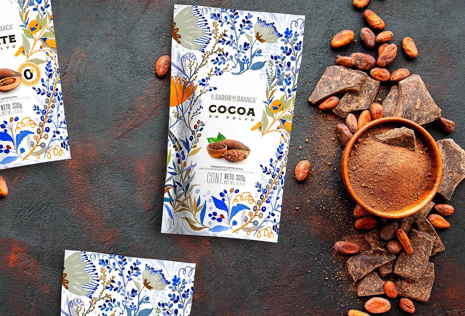 Sabor de Oaxaca (cacao) I Design : Nacho Huizar, Guadalajara, Mexique (juillet 2019)