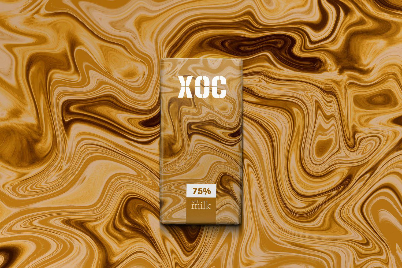 XOC (chocolat artisanal) I Design : Marta Portales, Espagne (août 2019)