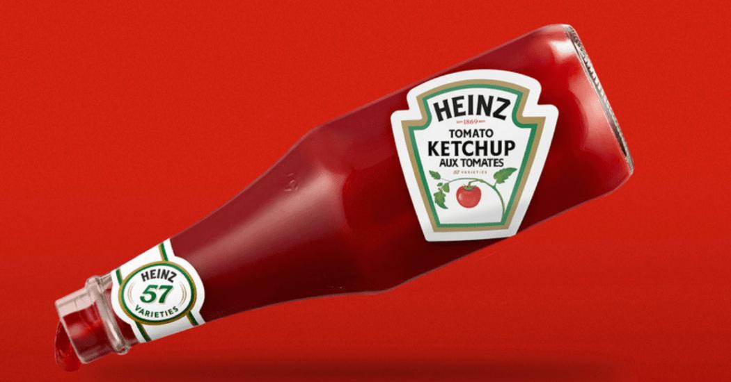 Heinz change le sens de ses étiquettes pour montrer comment verser son ketchup correctement