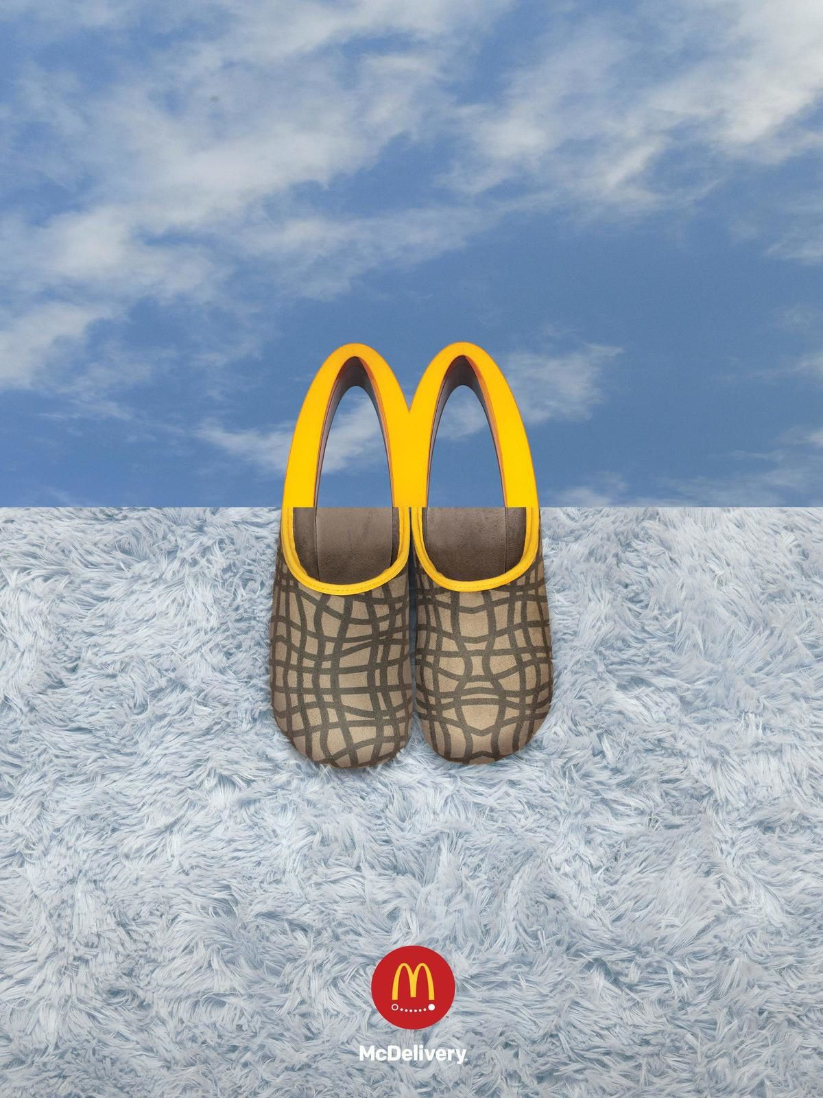 """McDonald's : """"McDelivery"""" (service de livraison) I Agence : TBWA\Buenos Aires, Buenos Aires, Argentine (septembre 2019)"""