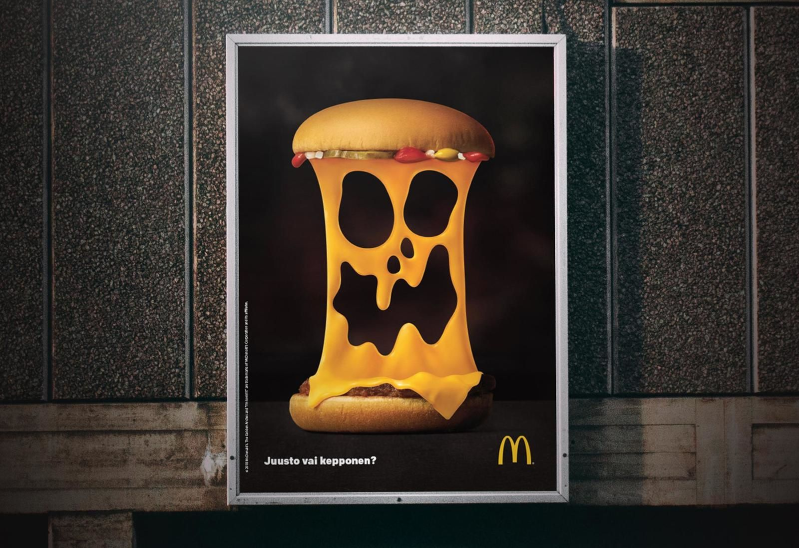 """Trick or Cheese ?"", McDonald's creative campaign for Halloween"