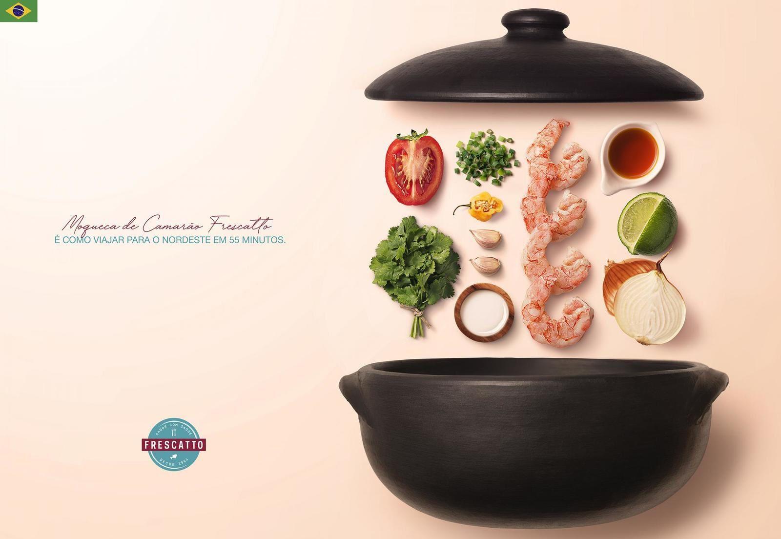 "Frescatto : ""Flavors of the world"" (produits de la mer) I Agence : Binder, Rio de Janeiro, Brésil (octobre 2019)"