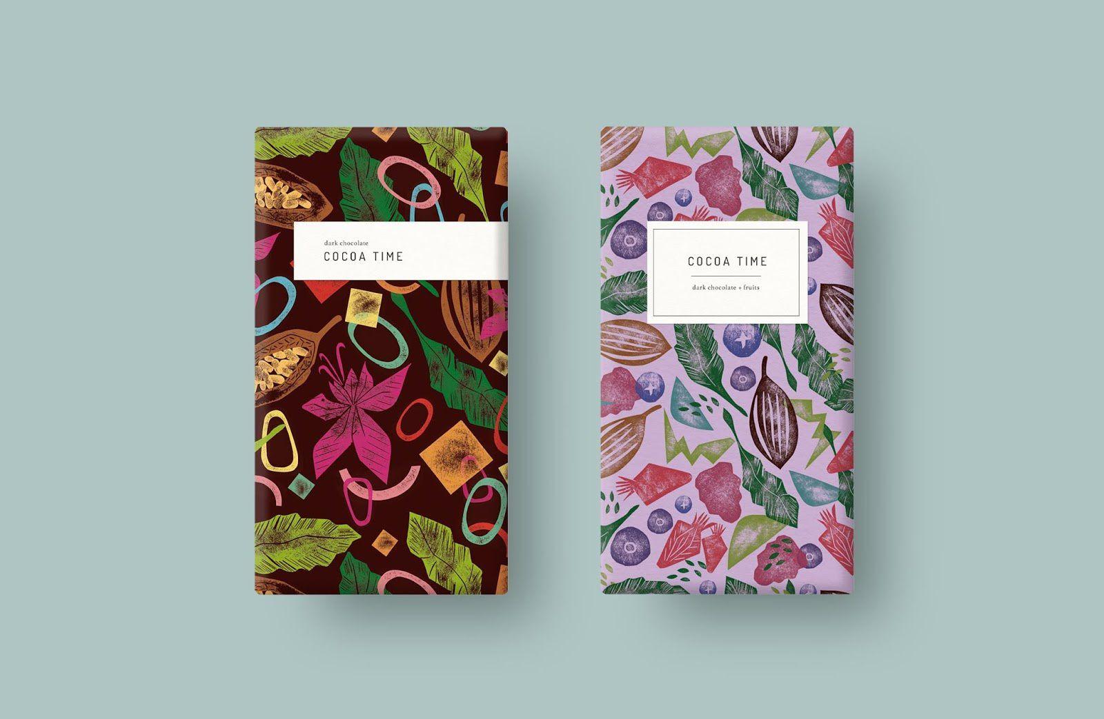 Cocoa Time (chocolat) I Design  (concept) : Studio Gudulab, Espagne (novembre 2019)