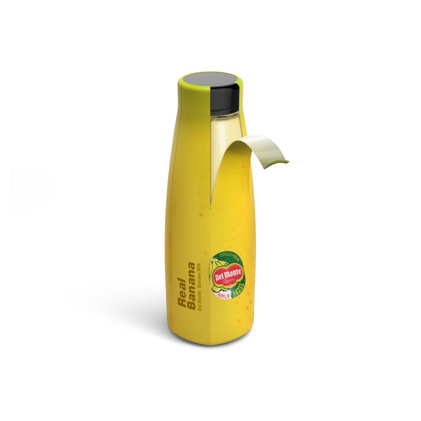 Real Banana Milk (lait à la banane) I Design (concept) : Dongwook Yoon, Corée (février 2020)