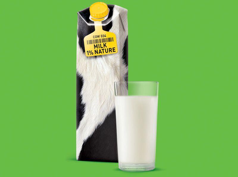 Milk Nature (lait) | Design (concept) : Roman Belichenko, Russie (mai 2016)