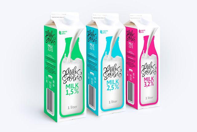 Milk Storm (lait) | Design : Andrey Plotnikov, Russie (août 2015)