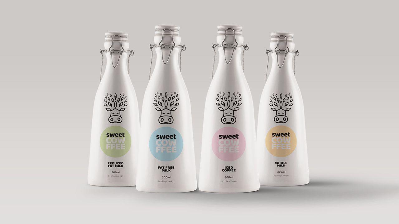 Le lait, c'est beau ! #2 - Top 20 des bouteilles de lait les plus créatives
