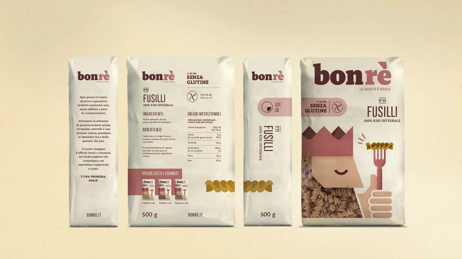 Newlat / Bonrè (pâtes) I Design : Solid Studio, Italie (mai 2018)