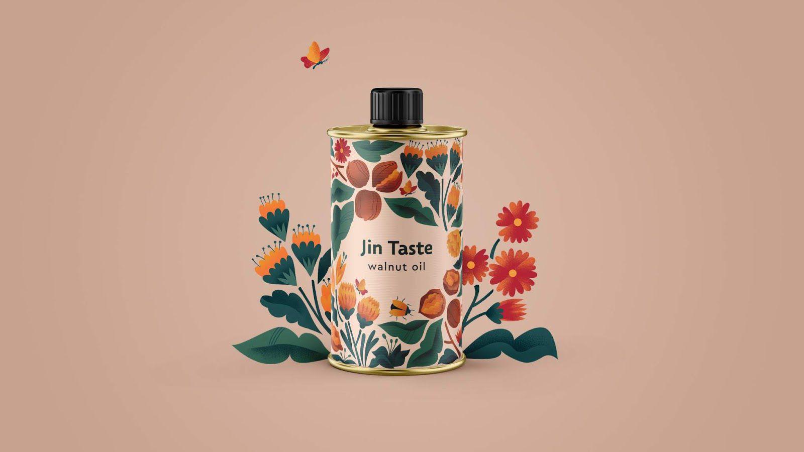 Jin Taste (huile) I Design : design studio Glad Head, Ukraine (mars 2020)