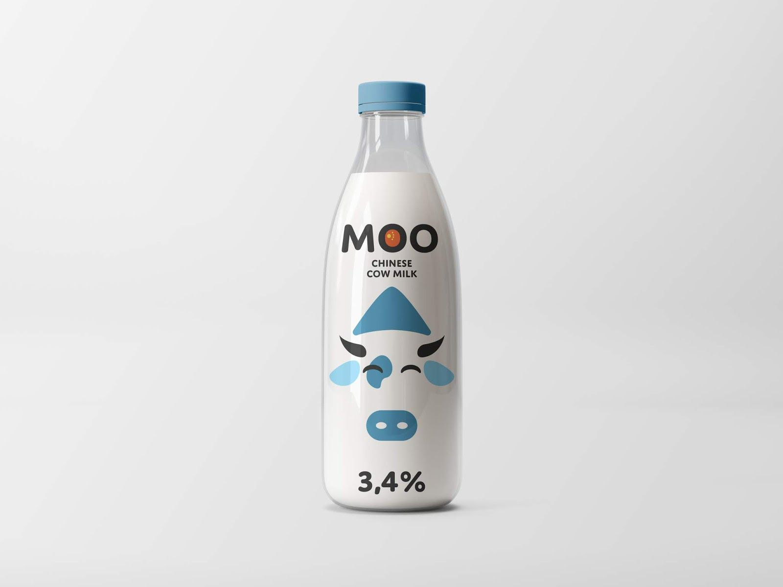MOO (lait) I Design (projet étudiant) : Dmitry Moystsrapishvili (HSE Art and Design School), Russie (avril 2020)
