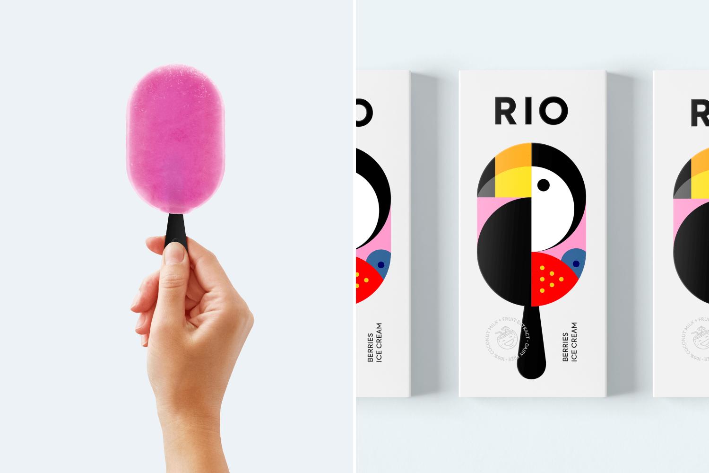 RIO (glaces) I Design (concept) : Berik Yergaliyev, Kazakhstan (avril 2020)