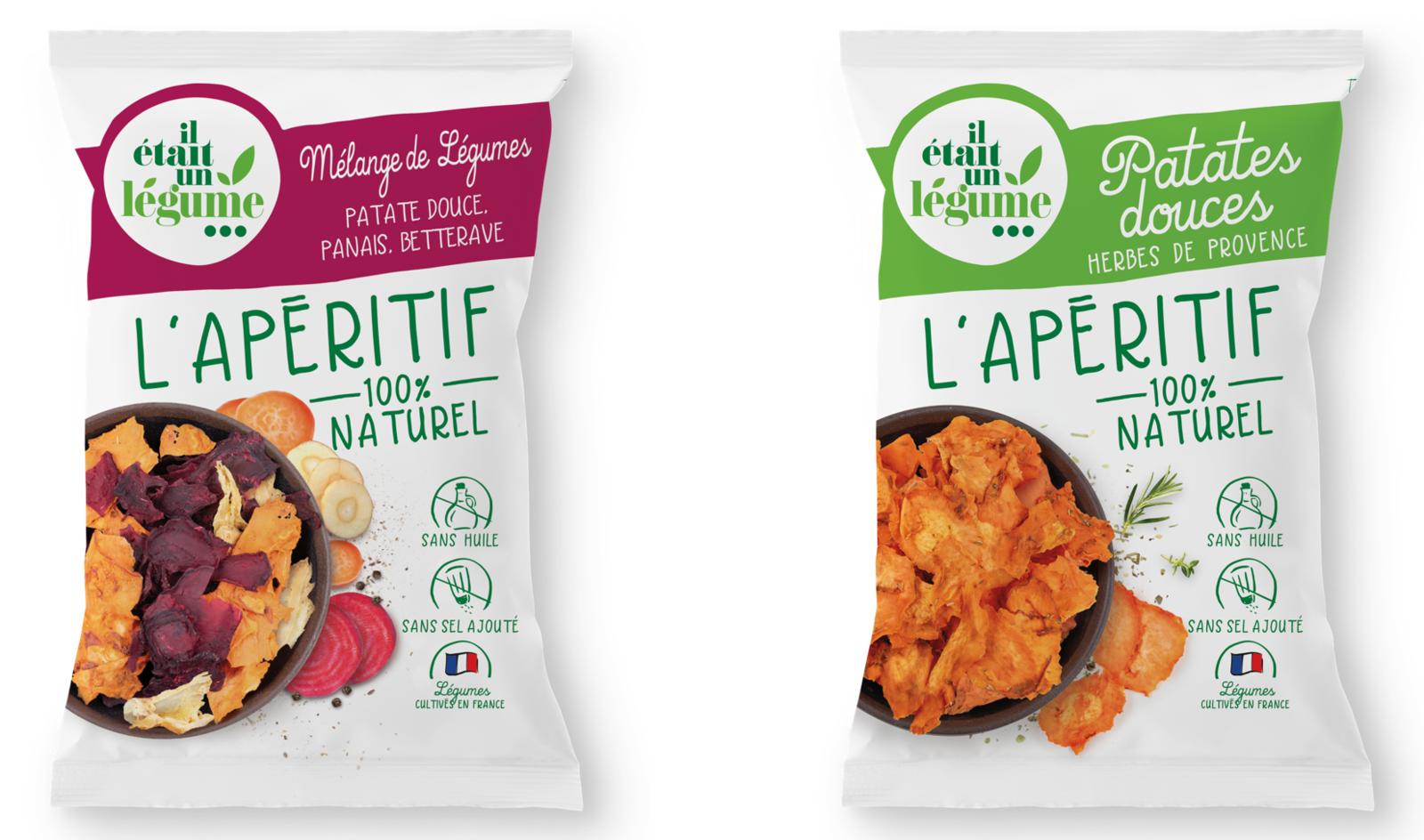 Il était un légume : Chips de légumes 100% naturelles pour l'apéro