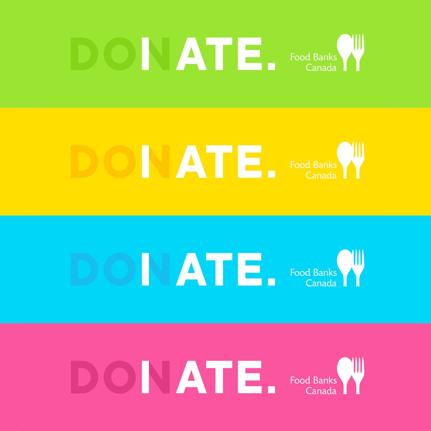 "Food Banks Canada : ""I Ate"" I Agence : The Local Collective, Toronto, Canada (mai 2020)"