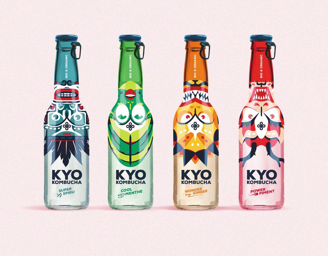 Kyo Kombucha (kombucha) I Design : Novembre, France (juin 2020)