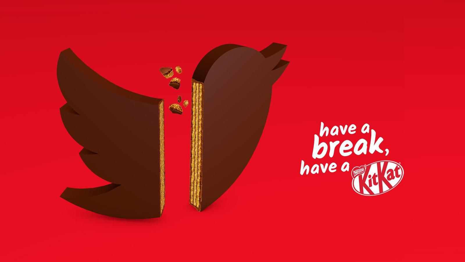 """KitKat : """"Have a break, have a KitKat"""" I Agence : Miami Ad School, Hambourg, Allemagne (juin 2020)"""