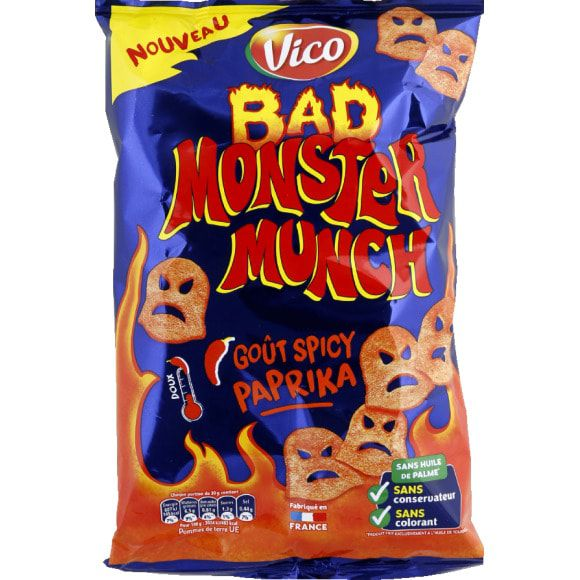 Vico : Bad Monster Munch - Goût Spicy & paprika