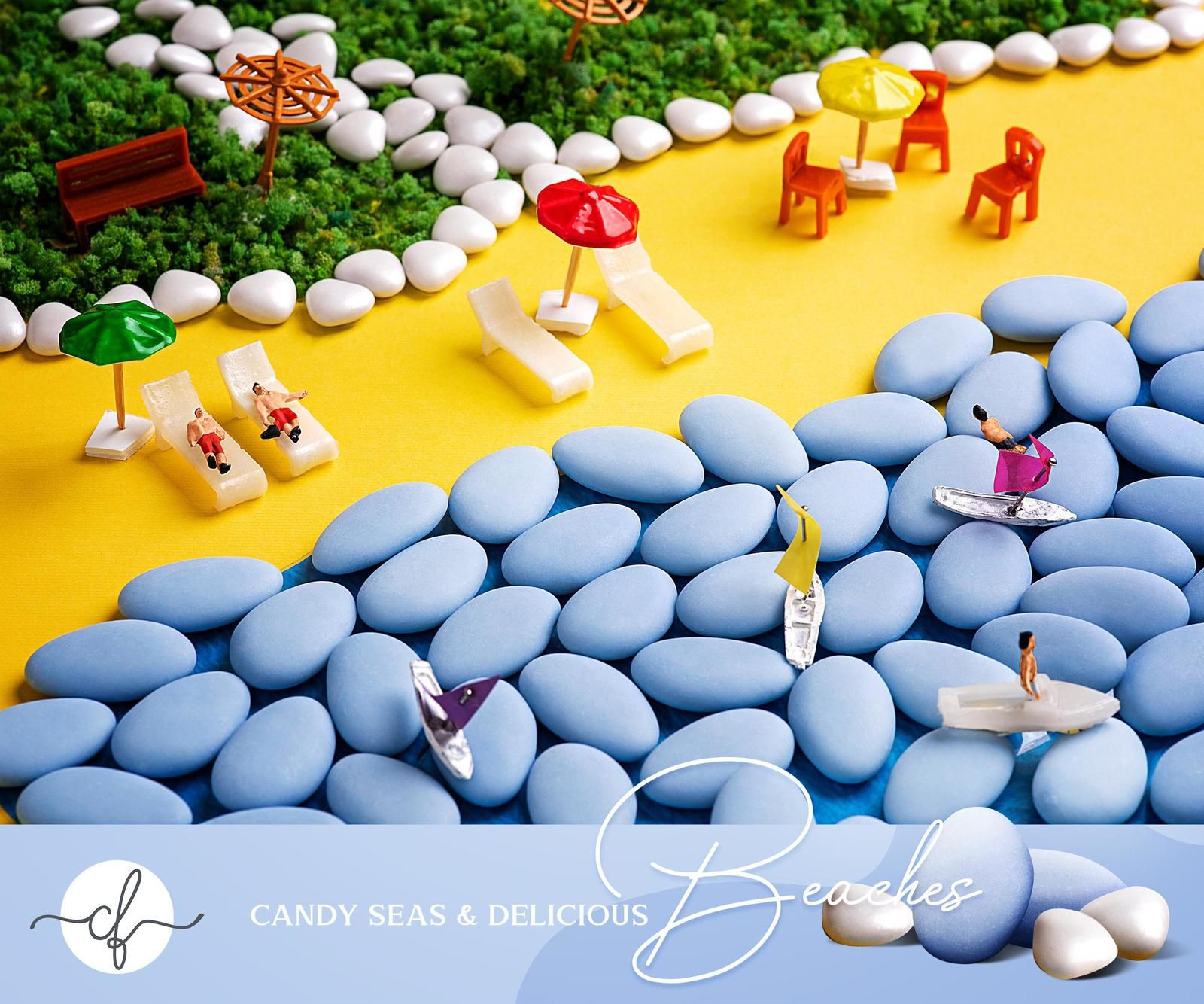 """Chocolate Factory : """"Candy seas and delicious beaches"""" I Agence : Artbox Studios, Le Caire, Egypte (juillet 2020)"""
