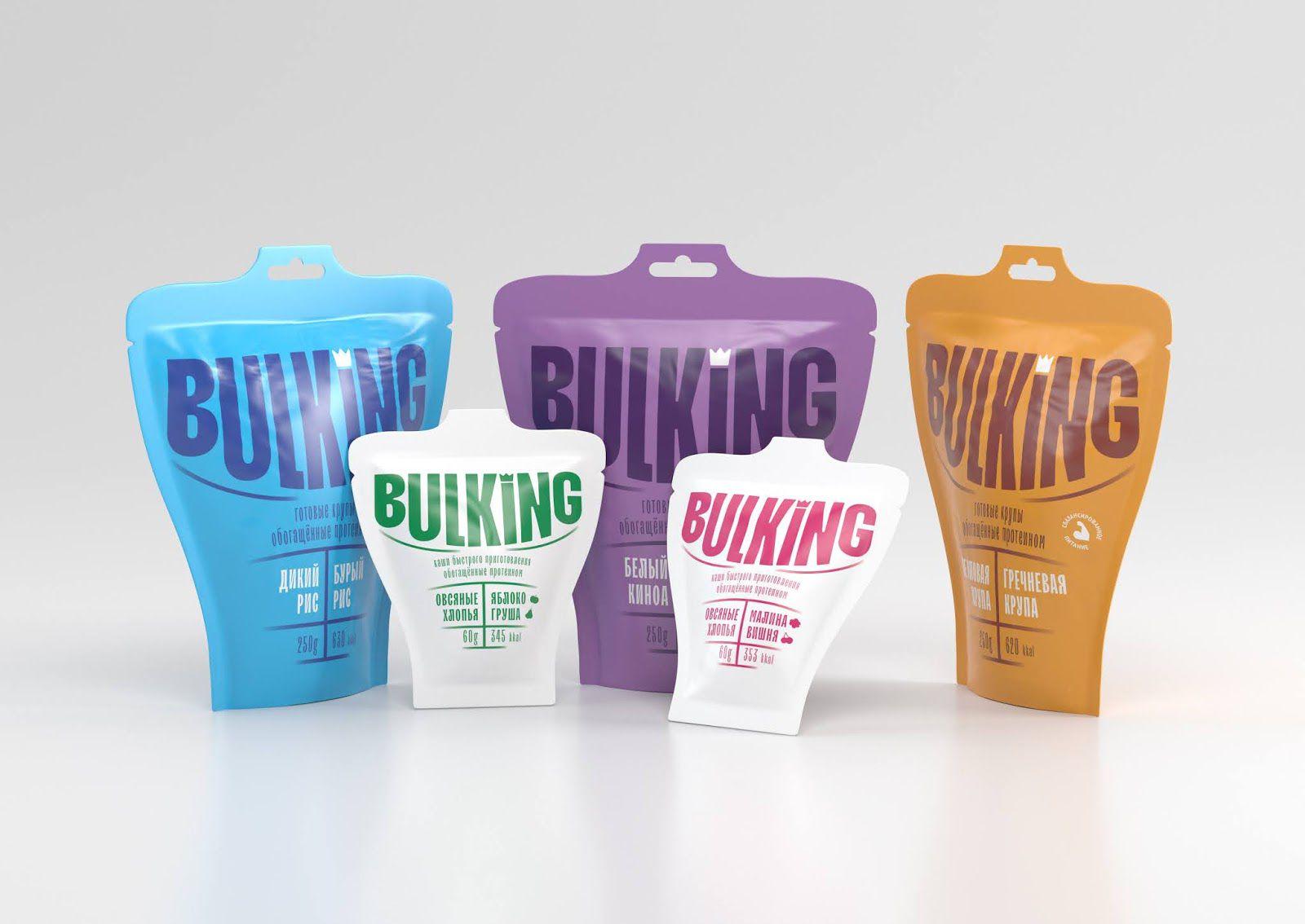 Bulking (alimentation protéinée) I Design : Nikita Gavrilov (HSE ART AND DESIGN SCHOOL), Russie (août 2020)