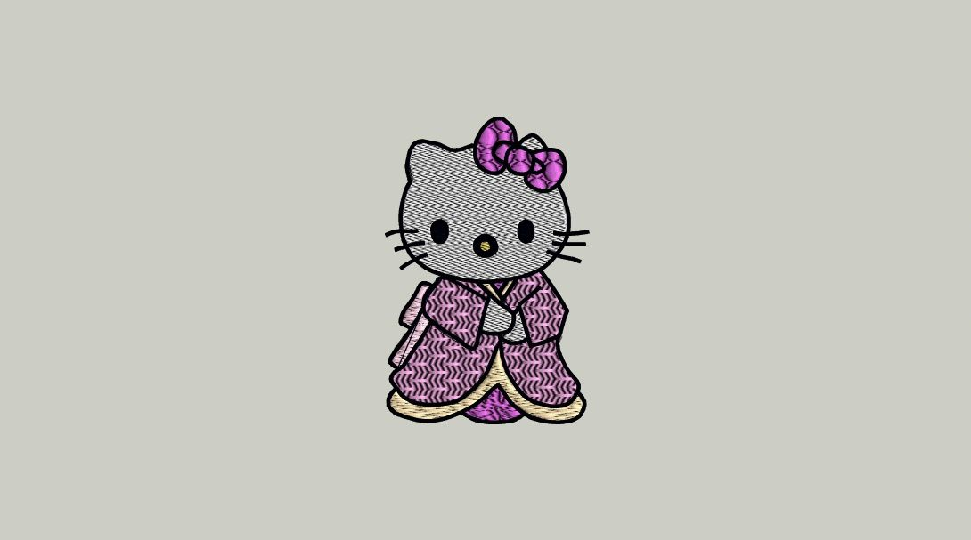 Hello Kitty japonisante